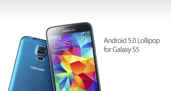 galaxy s5 update 5.0