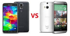 galaxy s5 vs htc one m8